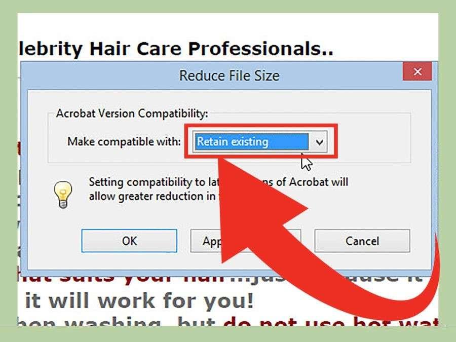 Як зменшити pdf розмір файлу: Adobe Acrobat Reader та онлайн