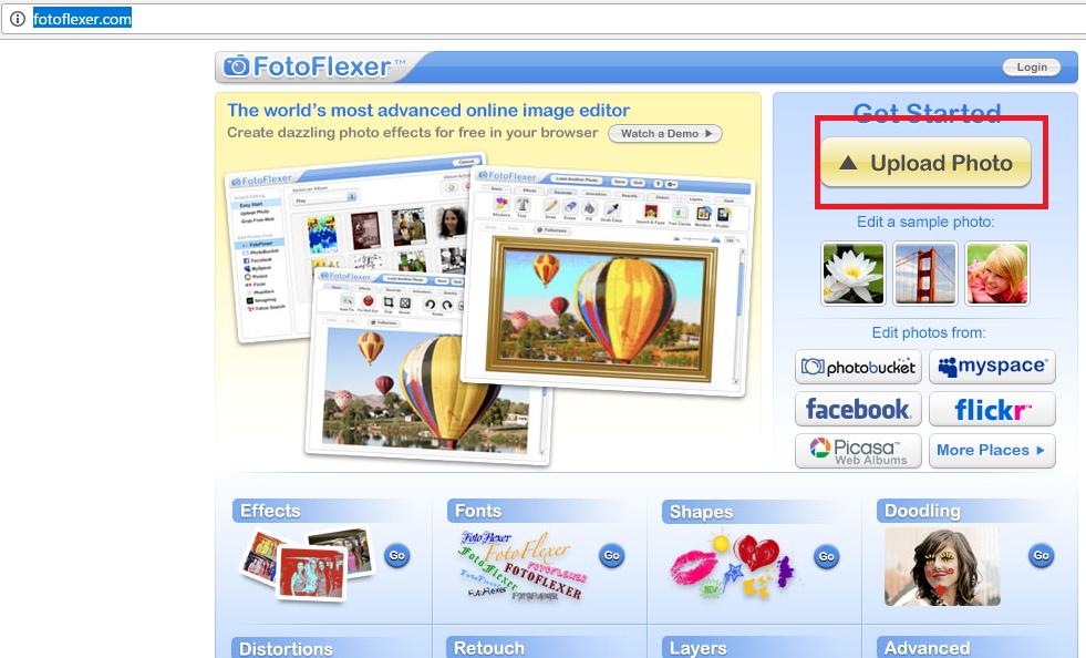 Онлайн фоторедактор з ефектами: Огляд 8 кращих сервісів