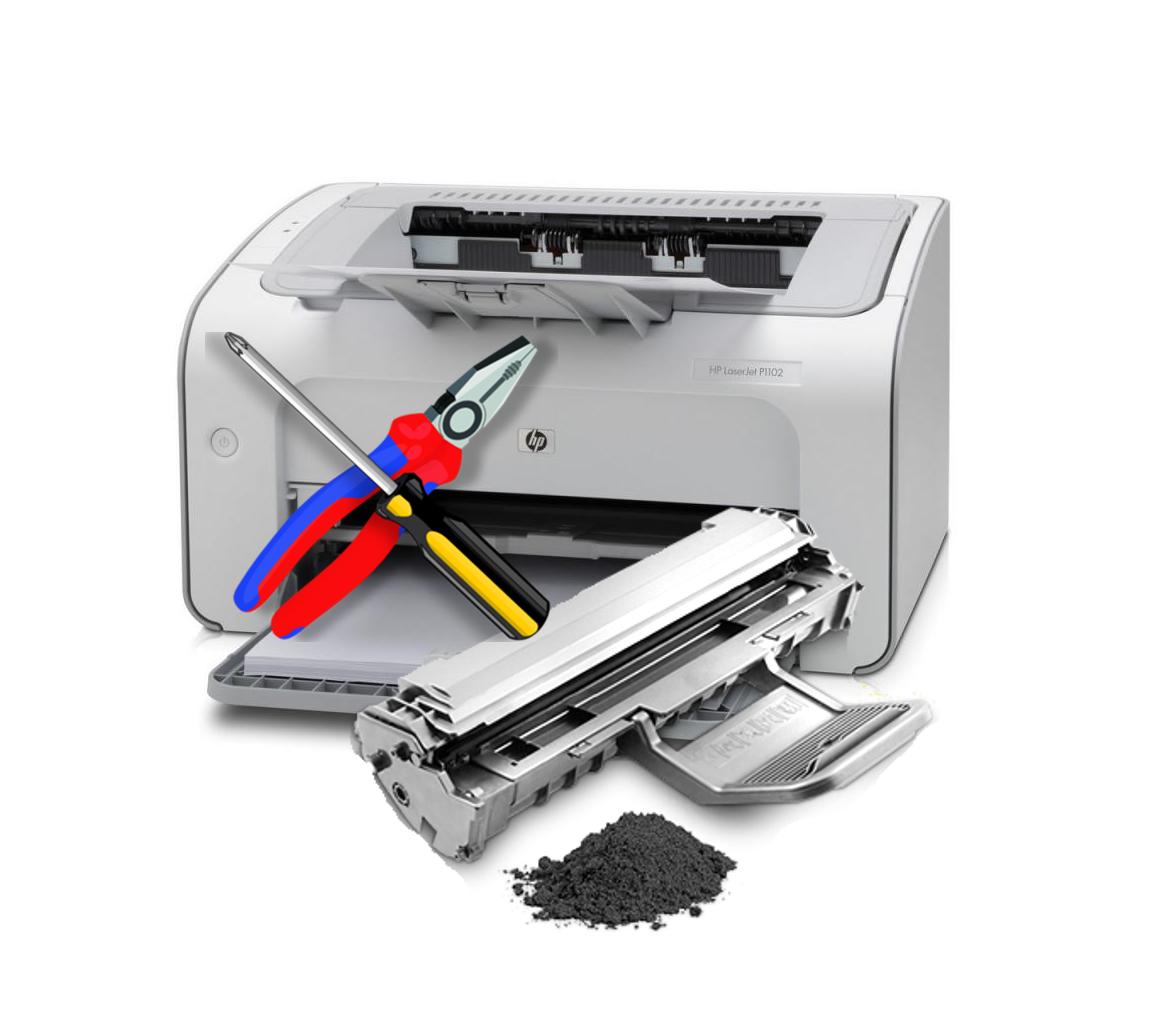 Чому принтер друкує смугами: EPSON, HP, Canon