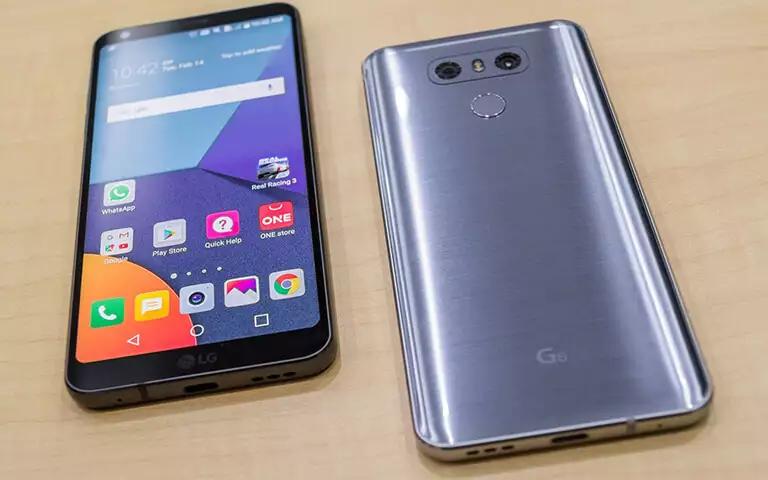 Телефон LG G6 — [монолітний] смартфон c потужною начинкою