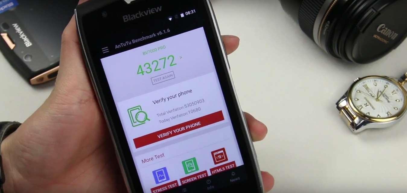 Огляд смартфона Blackview BV7000: Захист насамперед