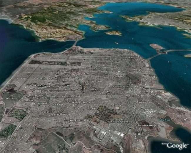 Онлайн карти з супутника: Огляд сервісів 2018 року