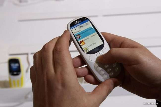 Nokia 3310 New 2018 — поліпшення технології?