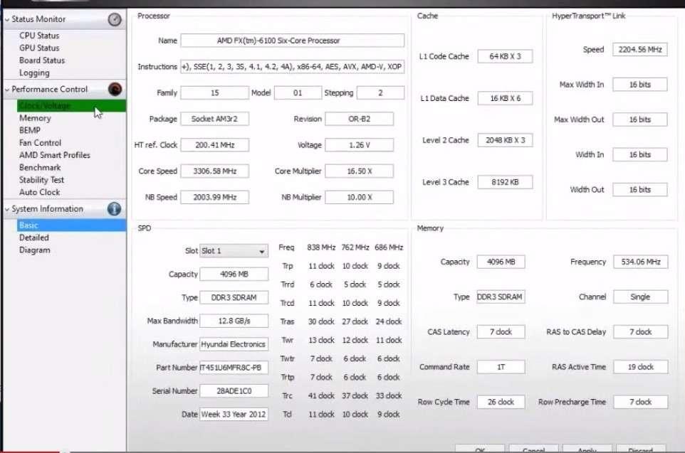 Кращі програми для розгону процесора AMD