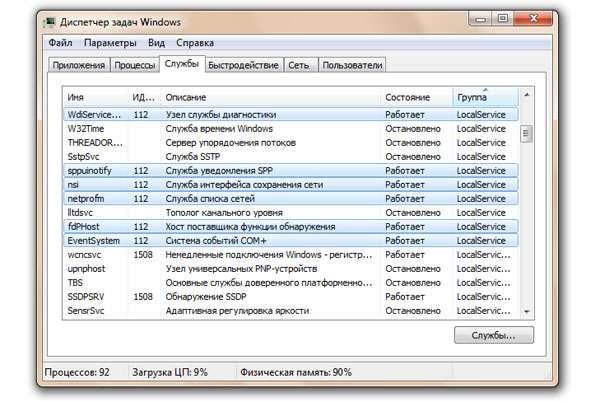 Svchost.exe вантажить процесор на ОС Windows 7. 5 способів вирішення проблеми