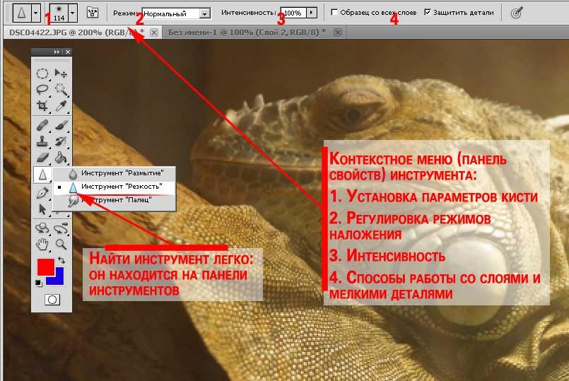 обзор параметров инструмента
