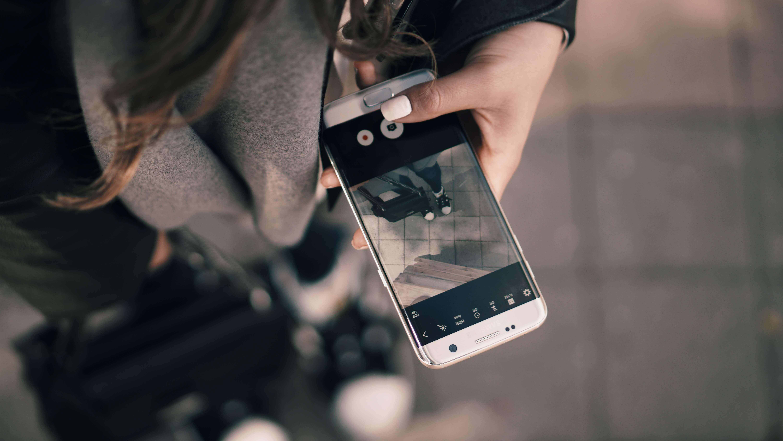 Настройка камеры телефона