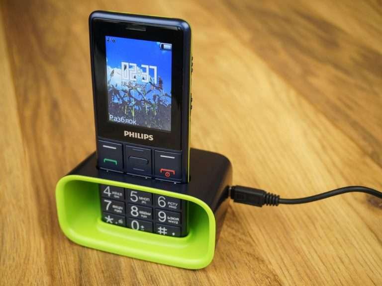 Мобільний телефон Philips Xenium e311: переваги, недоліки та характеристики «бабушкофона»